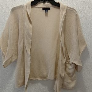 Tommy Hilfiger Woman's Open Cardigan With Belt XL